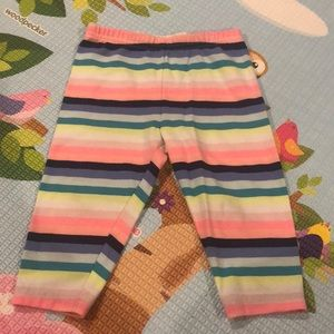 Carter's Striped Capri Leggings (24 months)